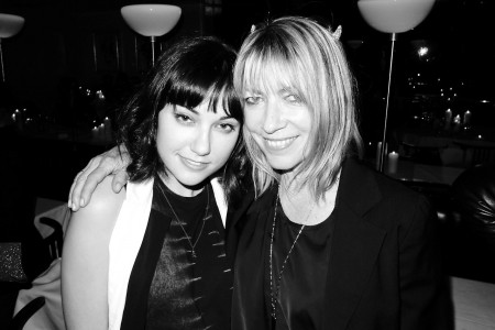 Sasha Grey and Kim Gordon